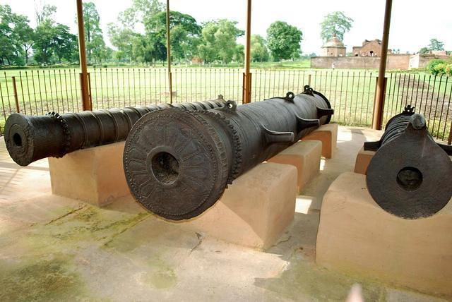 Bortup - Guns used by Ahom Kings